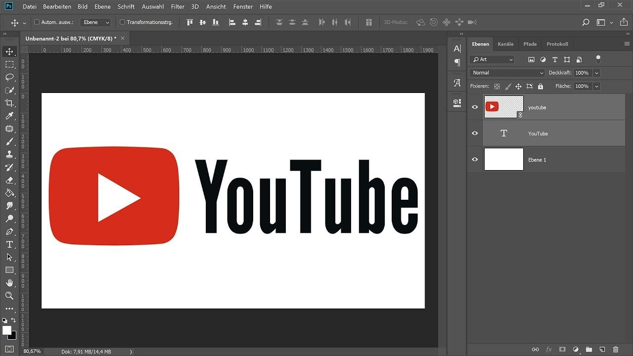 Logo erstellen – Photoshop-Tutorial