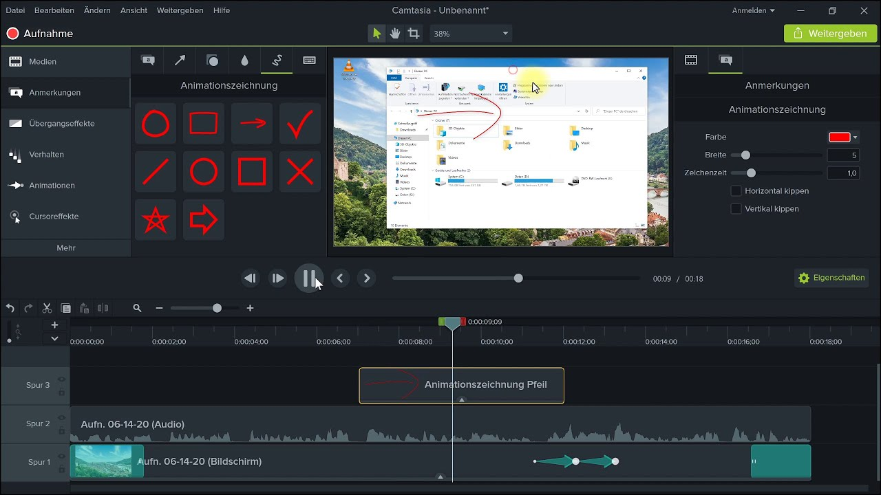 Camtasia: Screen-Capture- / Bildschirmaufnahme-Programm für Video-Tutorials – Software-Vorstellung
