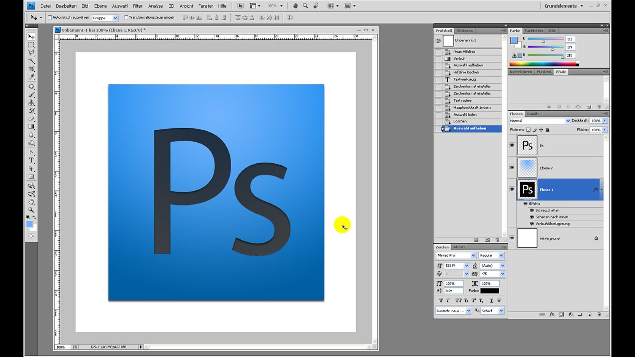 CS4-Icon erstellen – Photoshop-Tutorial